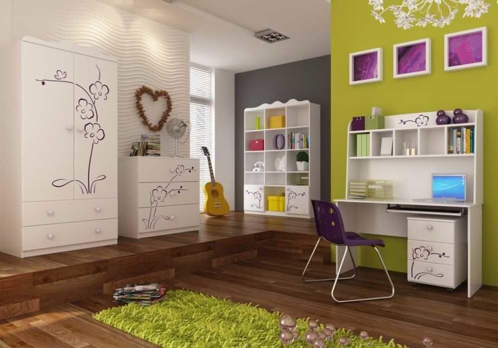 мебель для детской комнаты белая для девочки нужны